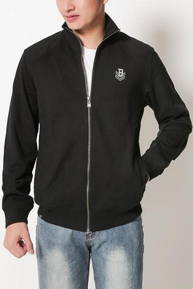 Áo khoác nam màu đen