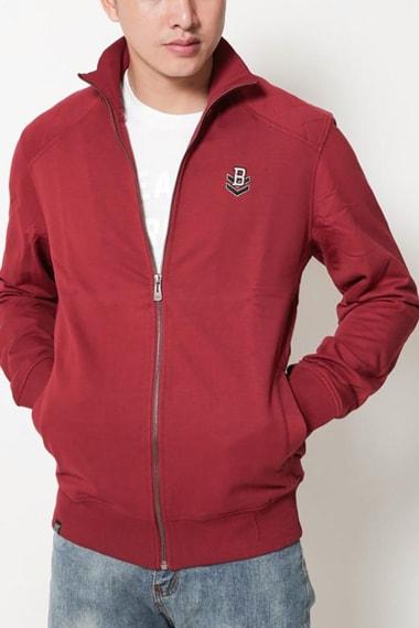 Áo khoác nam đỏ đô
