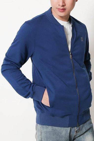 Áo khoác nam xanh biển