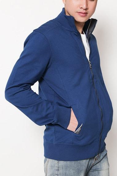 Áo khoác nam xanh xanh